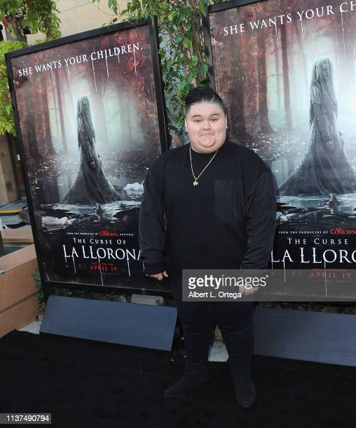 Jovan Armand arrives for the Premiere Of Warner Bros' The Curse Of La Llorona held at the Egyptian Theatre on April 15 2019 in Hollywood California