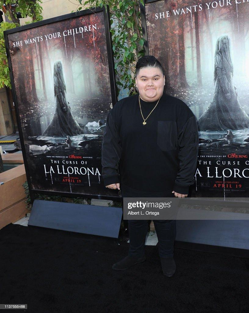 """Premiere Of Warner Bros' """"The Curse Of La Llorona"""" - Arrivals : News Photo"""