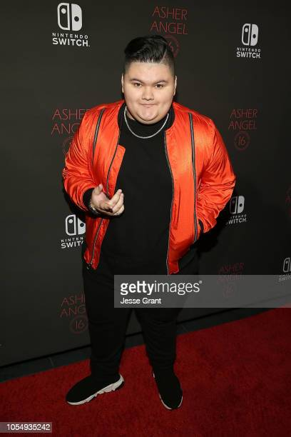 Jovan Armand attends Asher Angel's 16th Birthday Party Celebration at Blind Dragon on October 28 2018 in West Hollywood California