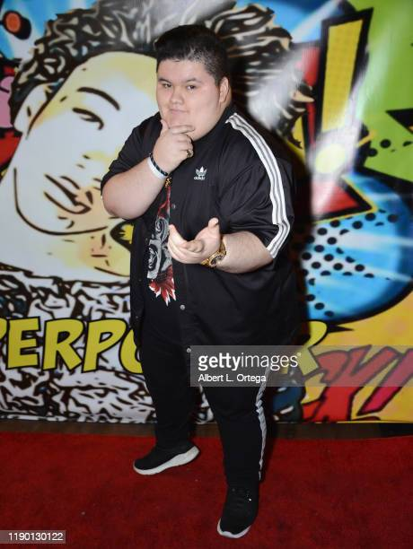 Jovan Armand attends Jaheem King Toombs' 18th Birthday held at The Globe Theater on November 17 2019 in Los Angeles California