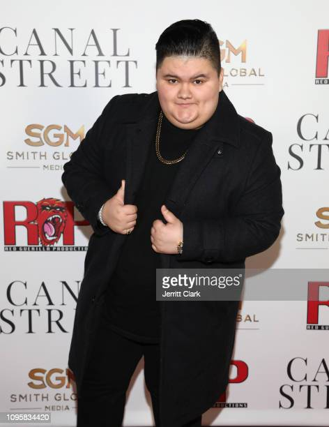 Jovan Armand attends Smith Global Media's World Premiere of Canal Street at ArcLight Hollywood on January 17 2019 in Hollywood California