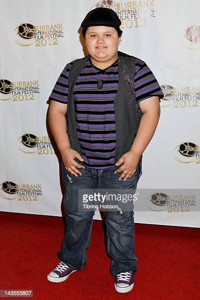Jovan Armand attends the Burbank International Film Festival private launch party and fundraiser at Hollywood Tower on April 28 2012 in Los Angeles...