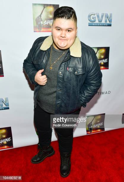 Jovan Armand attends the premiere of GVN Releasing's Shine at Harmony Gold on October 2 2018 in Los Angeles California