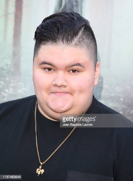 Jovan Armand attends the premiere of Warner Bros' 'The Curse Of La Llorona' at the Egyptian Theatre on April 15 2019 in Hollywood California