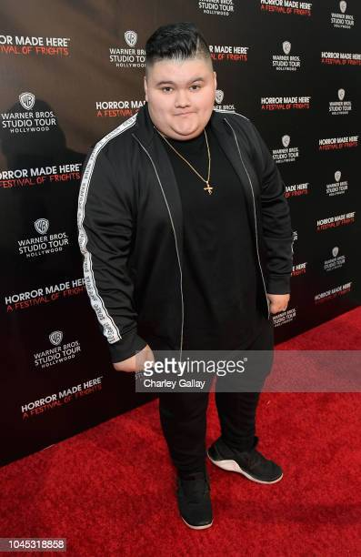 Jovan Armand attends the Warner Bros Studio Tour Hollywood Horror Made Here A Festival Of Frights on October 3 2018 in Burbank California