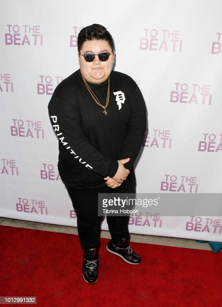 Jovan Armand attends To The Beat Netflix release party at Montrose Bowl on August 7 2018 in Montrose California