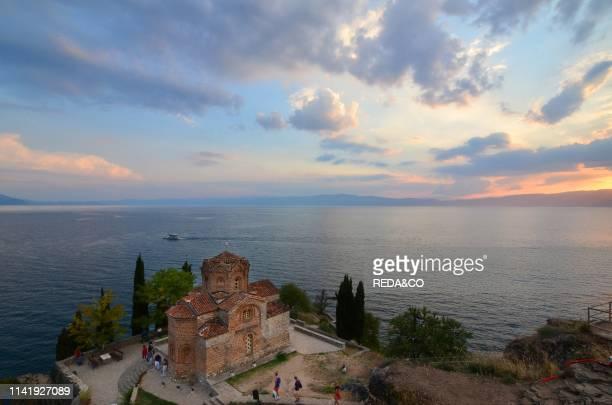 Jovan Kaneo Church on Lake Ohrid Sveti Macedonia Europe