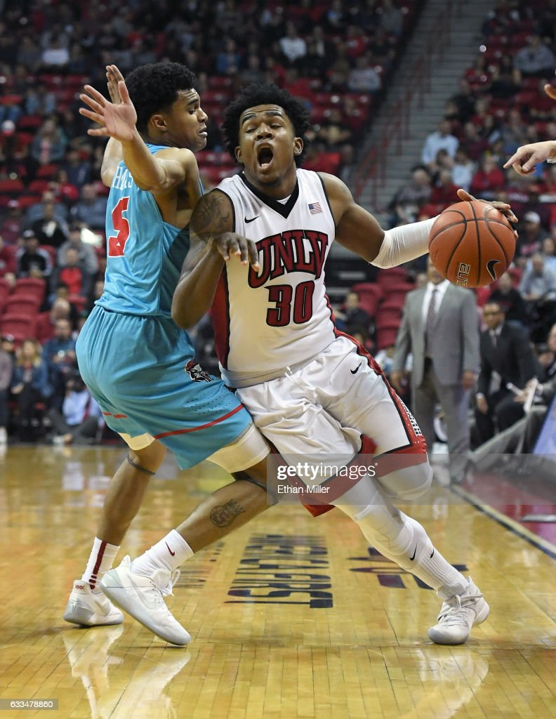 New Mexico v UNLV : News Photo