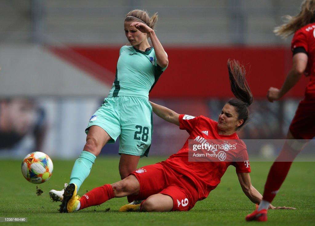 Bayern Muenchen Women's v TSG Hoffenheim Women's - Flyeralarm Frauen-Bundesliga : News Photo