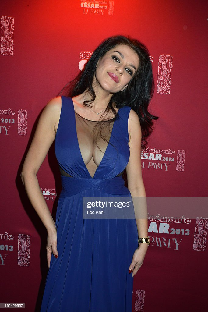 Jovanka Sopalovic attend the Cesar Film Awards 2013 after party at the Club 79 on February 22, 2013 in Paris, France.