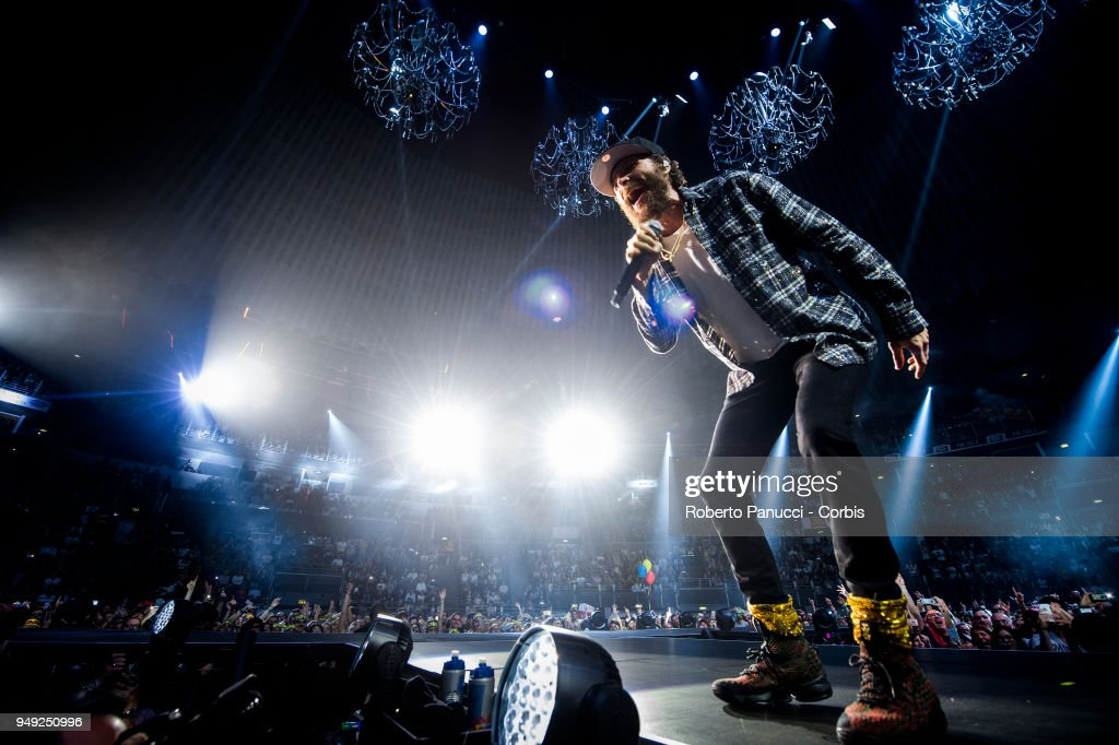 Jovanotti Performs In Rome