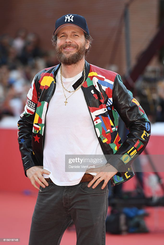 Lorenzo Jovanotti Cherubini Red Carpet - 11th Rome Film Festival