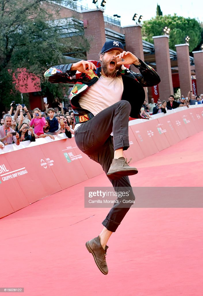 Lorenzo Jovanotti Cherubini Red Carpet - 11th Rome Film Festival