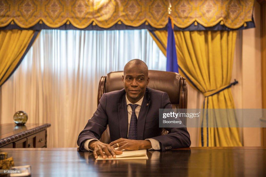 President Of Haiti Jovenel Moise Interview