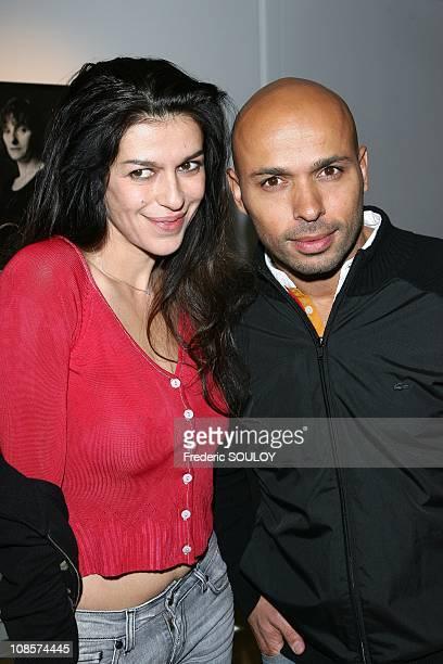 Jovenka Sopalovic and Eric Judor in Paris France on November 13 2008