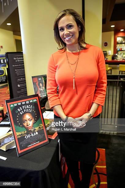 Jovita Mooore attends ChiRaq Atlanta Screening at AMC Phipps Plaza on December 3 2015 in Atlanta Georgia