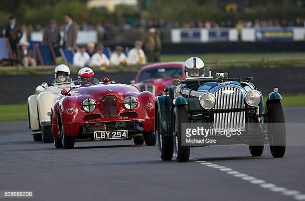 Jowett Jupiter driven by John Arnold in the Fordwater Trophy race