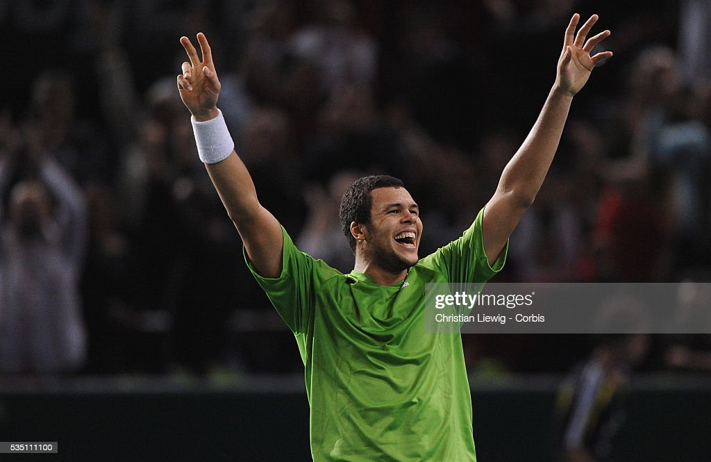 Tennis - BNP Paribas Masters - Roddick vs. Tsonga : News Photo