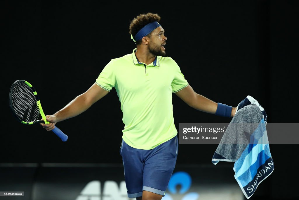 2018 Australian Open - Day 5 : News Photo