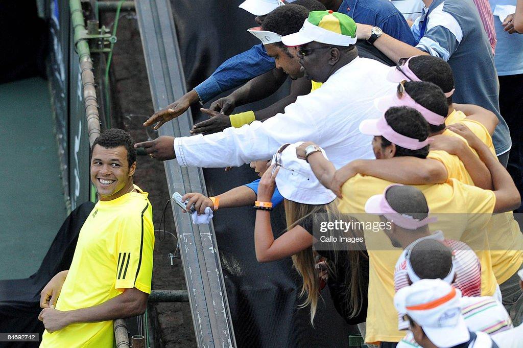 SA Tennis Open : Day 7 : News Photo