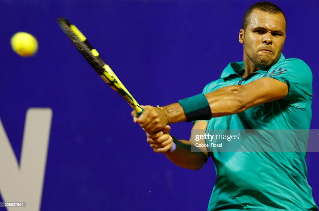 Nicolas Almagro v Jo-Wilfried Tsonga - ATP Argentina Open : News Photo