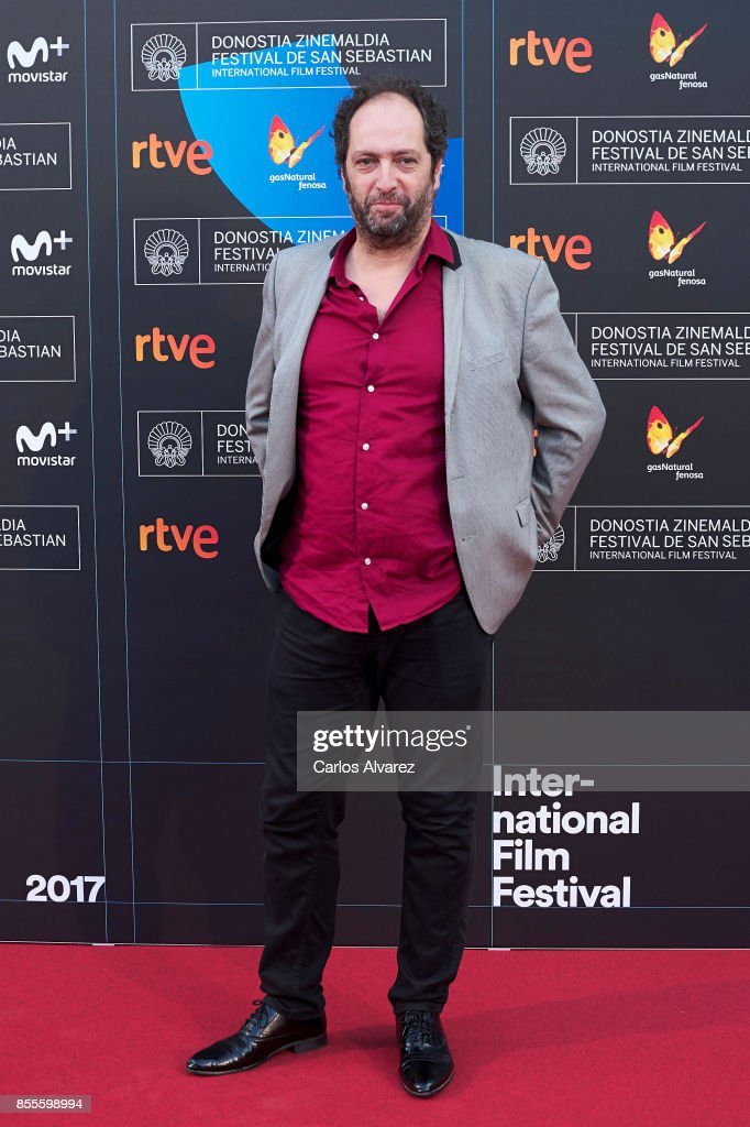 Joxean Bengoetxea on the red carpet for the premiere of the Netflix Film 'Fe De Etarras' at San Sebastian International Film Festival 2017 on September 29, 2017 in San Sebastian, Spain.