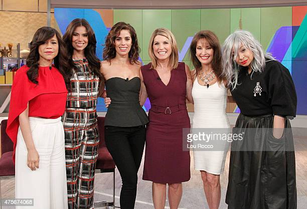 THE VIEW Joy Behar and Raven Symone are the guest cohosts Monday June 1 2015 on Walt Disney Television via Getty Images's The View The View airs...