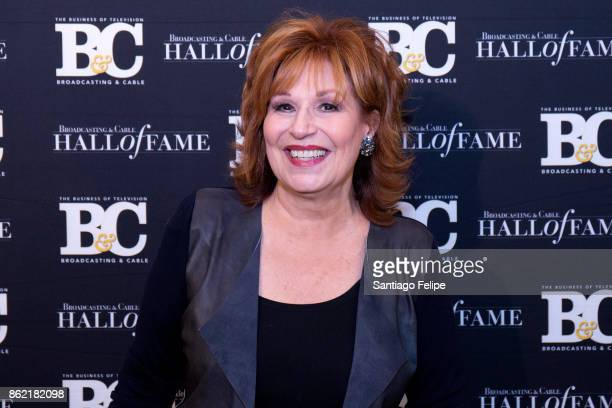 Joy Behar attends the 2017 Broadcasting Cable Hall Of Fame 27th Anniversary Gala at Grand Hyatt New York on October 16 2017 in New York City