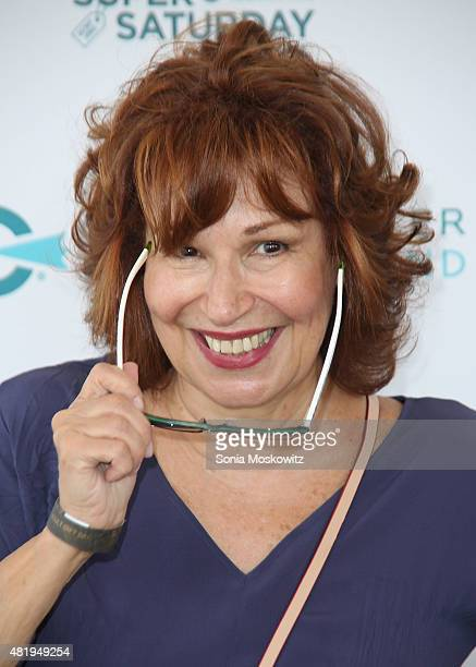 Joy Behar attends the Ovarian Cancer Research Fund's Super Saturday NY at Nova's Ark Project on July 25 2015 in Water Mill New York