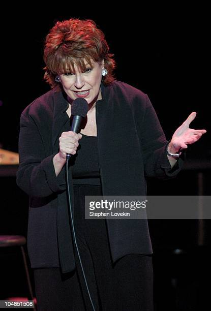 Joy Behar during Comedy Tonight A Night of Comedy to Benefit the 92nd Street Y at The 92nd Street Y in New York City NY United States