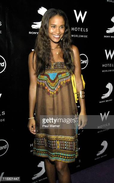 Joy Bryant at W Chicago on August 6 2009 in Chicago Illinois