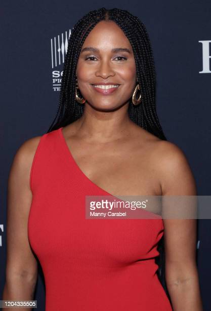 Joy Bryant attends ABC's For Life New York premiere at Alice Tully Hall Lincoln Center on February 05 2020 in New York City