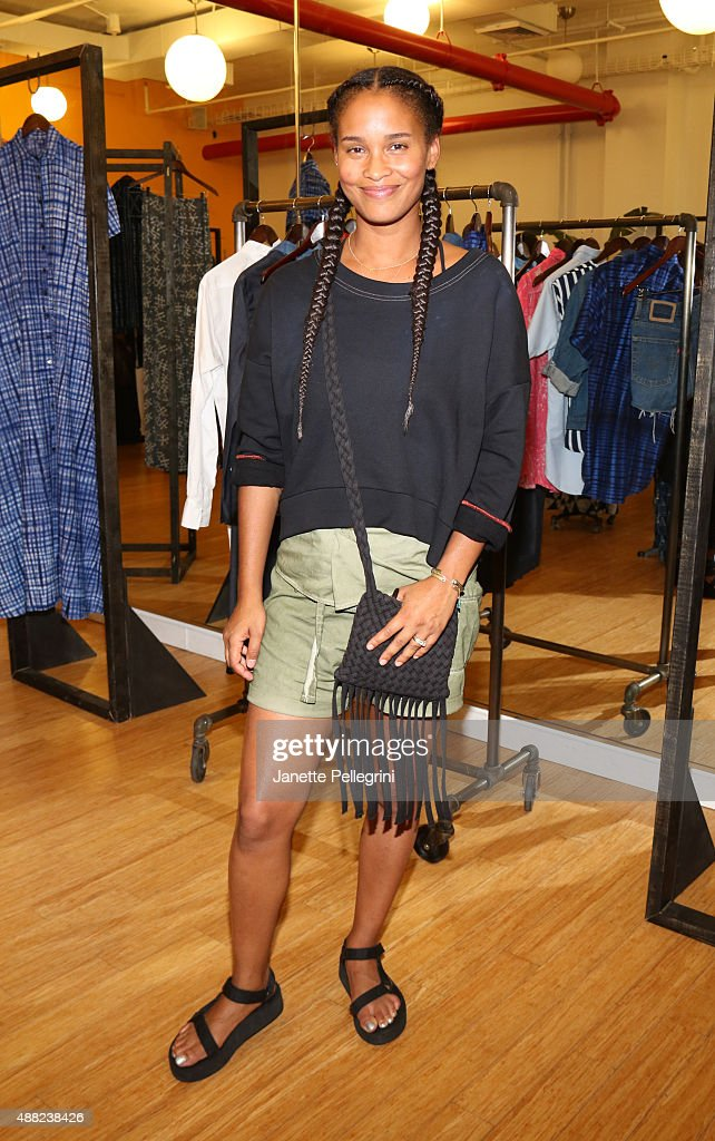 Joy Bryant attends Studio 189 Presentation at Spring 2016 New York Fashion Week:The Shows on September 14, 2015 in New York City.