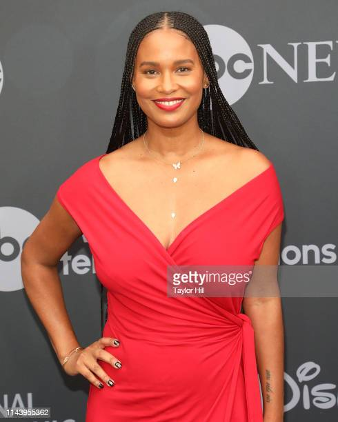 Joy Bryant attends the 2019 ABC Walt Disney Television Upfront at Tavern on the Green on May 14 2019 in New York City