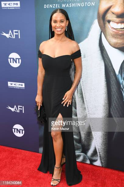Joy Bryant attends the 47th AFI Life Achievement Award Honoring Denzel Washington at Dolby Theatre on June 06 2019 in Hollywood California 610461