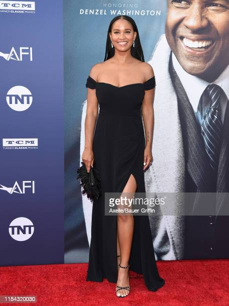 Joy Bryant attends the American Film Institute's 47th Life Achievement Award Gala Tribute to Denzel Washington at Dolby Theatre on June 06 2019 in...