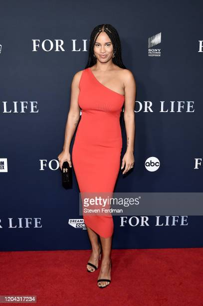Joy Bryant attends the New York Premiere of ABC's For Life at Alice Tully Hall Lincoln Center on February 05 2020 in New York City