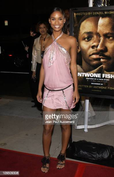 Joy Bryant during 'Antwone Fisher' Premiere Beverly Hills at Academy of Motion Picture Arts Sciences in Beverly Hills California United States