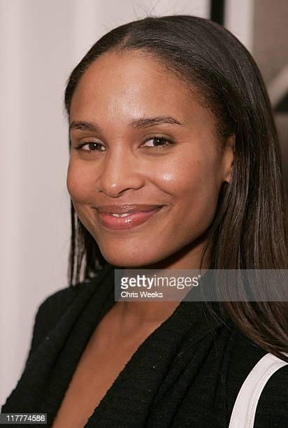 Joy Bryant during Corzo Tequila Hosts Desanka Fall 2006 Collection Preview Party at Regent Beverly Wilshire in Beverly Hills California United States