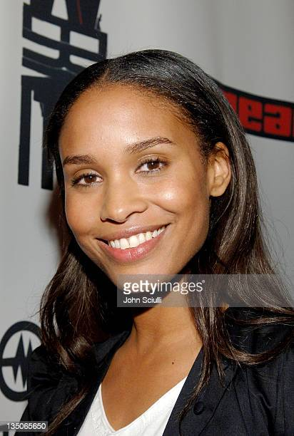 Joy Bryant during Joy Bryant, Elizabeth Banks and Bijou Phillips Host Mean Magazine Release Party Sponsored by Antik Denim and Amp'd Mobile at LAX in...