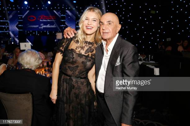 Joy Corrigan and Robert Shapiro attend Brent Shapiro Foundation Summer Spectacular 2019 at The Beverly Hilton Hotel on September 21 2019 in Beverly...