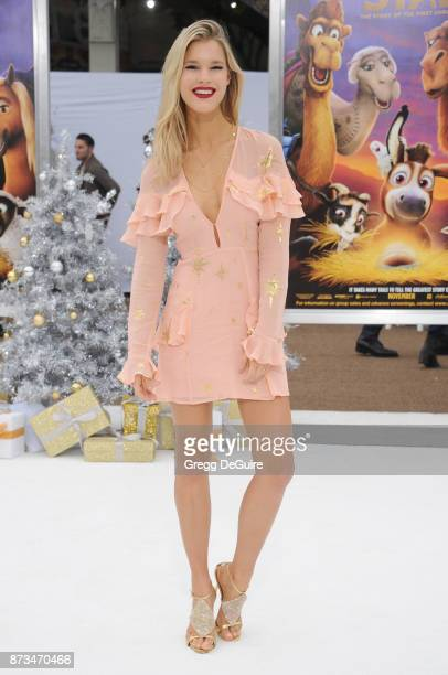 """Joy Corrigan arrives at the premiere of Columbia Pictures' """"The Star"""" at Regency Village Theatre on November 12, 2017 in Westwood, California."""