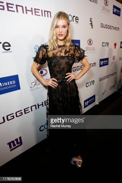 Joy Corrigan attends Brent Shapiro Foundation Summer Spectacular 2019 at The Beverly Hilton Hotel on September 21, 2019 in Beverly Hills, California.