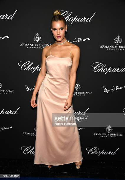 Joy Corrigan attends Creatures Of The Night LateNight Soiree Hosted By Chopard And Champagne Armand De Brignac at The Setai Miami Beach on December 5...