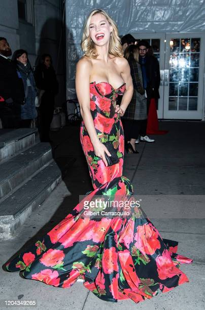 Joy Corrigan is seen arriving to the 2020 amfAR New York Gala at Cipriani Wall Street on February 05, 2020 in New York City.