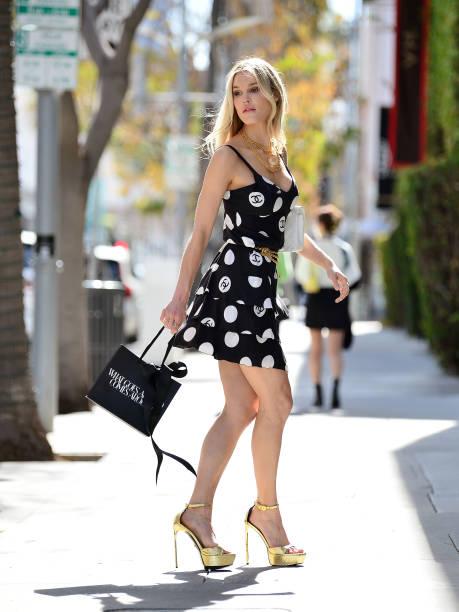 CA: Celebrity Sightings In Los Angeles - April 13, 2021