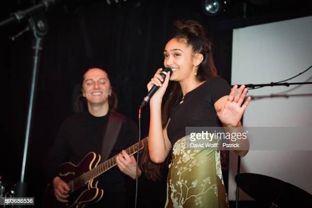 Joy Crookes opens for Jacob Banks at Badaboum on December 15 2017 in Paris France