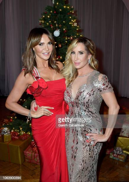 Joy Desmond and Lizzy Cundy attend the Together For Short Livessss 'Nutcracker Ball' at One Marylebone on November 20 2018 in London England Money...