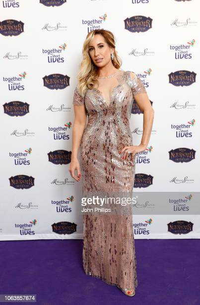 Joy Desmond attends the Together For Short Livessss 'Nutcracker Ball' at One Marylebone on November 20 2018 in London England Money raised during the...