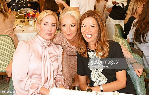 Joy Desmond Tamara Beckwith and Heather Kerzner attend the 3rd Annual Ladies' Lunch in support of the Silent No More Gynaecological Cancer Fund at...